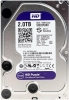 Жесткий диск SATA 2 Tb WD WD20PURX Purple (Serial ATA III, 64Mb buffer)