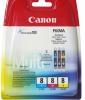 Набор Canon CLI-8C/M/Y (Canon Pixma 4200/5200/MP500/MP800)  (о)  0621B029