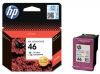 Картридж №46 (HP DJ Ink Advantage 2020hc/2520hc) цветной (о) CZ638AE