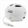 Колонка CBR CMS-100 White (3Вт х 1.0)