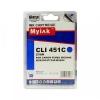Картридж CLI-451C XL (Canon Pixma IP7240/Pixma MG6340/MG5440) син, (MYINK)