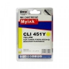 Картридж CLI-451Y XL (Canon Pixma IP7240/Pixma MG6340/MG5440) жёлт, (MYINK)