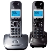 Радиотелефон Panasonic KX-TG2512RU1 {АОН, 10 полиф. мелодий, тел.книга 50 номеров} доп.трубка в комп