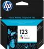 Картридж №123 (HP DJ 2130) (100 стр) цветной (о) F6V16AE