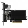 Видеокарта 2048Mb PCI-E GeForce GT710 Palit (DDR3, 64bit, DVI, VGA, HDMI) (PA-GT710-2GD3H)