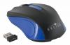 Мышь радио (USB) Oklick 485MW черный/синий (1200dpi) (2but)