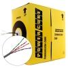 Сетевой кабель  UTP 4P 5e Cablexpert [UPC-5040E-SOL],  ССА одножильный  (бухта 305м)