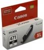 Картридж CLI-471BK XL (Canon Pixma MG5740/MG6840/MG7740) чер, (о)  0346C001