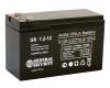 Батарея UPS 12V  7.2H GS/GSL 7.2-12