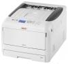 Принтер OKI C823N (A3, 23/13 стр/мин, 1200 x 600dpi, 256mb, до 256 г/м2, USB, LAN)