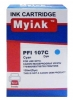 Картридж Canon PFI-107C (Canon iPF680/685/780/785) (130 мл) (MyInk)  Cyan