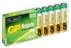 Батарейка AAА GP 24A-B10 Super Alkaline 24A LR03 (10шт. в уп-ке)