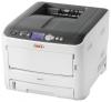 Принтер OKI C612DN (A4, 36/34 стр/мин,1200 x 600dpi, 256mb, до 220 г/м2, Duplex, USB, LAN)