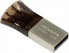 Устройство USB Flash Drive  8Gb A-DATA [UC330] /MicroUSB, Серебро/Черный
