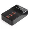 Зарядное устройство USB Gembird MP3A-PC-01 220V-5V USB 3 порта, 3A суммарно