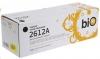 Картридж Q2612A/FX-10 (HP LJ1010/1012/1015/1020/1022/3015/3020/3030/3052) (2000стр) (Bion)