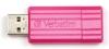 Устройство USB Flash Drive  8Gb Verbatim PinStripe (47397) USB 2.0, Розовый