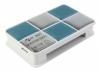 Card reader ext USB 2.0 PC Pet CR-217CBL голубой