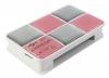 Card reader ext USB 2.0 PC Pet CR-217CPK розовый