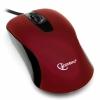 Мышь оптич. (USB) Gembird MOP-400-R (2кн.,1000dpi) красный