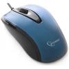 Мышь оптич. (USB) Gembird MOP-405-B (2кн.,1000dpi) синий