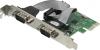 Контроллер COM (2port) PCI-E WCH382  Ret