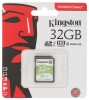 Карта памяти Secure Digital 32GB Kingston class10 SDXC UHS-I (SDS/32GB)