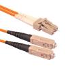Патч-корд оптический LC/UPC MM Duplex 5 метров (SNR-PC-LC/UPC-MM-DPX-5m)