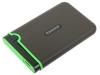 """Внешний жесткий диск 2.5"""" 1 Tb Transcend StoreJet 25M3S (TS1TSJ25M3S) USB 3.0 серый"""