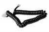 Шнур витой трубочный (2 метра) черный
