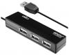 Разветвитель USB HUB 4 порта Ginzzu GR-334UB