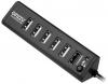 Разветвитель USB HUB 7 портов GR-315UB Ginzzu (1xUSB3.0+6xUSB2.0)