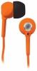 Наушники-вкладыши BBK EP-1200S 1.2м оранжевый проводные