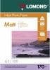 Бумага для стр. принтеров (170г/м2, 100л, А3 матовая 2-ст, фото) 0102012 Lomond