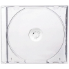 Коробка для 1 CD диска (SLIM, прозрачная подложка)  37704-00000008