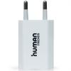 Адаптер питания сетевой  USB CBR  Human Friends 220V to USB, Flower, White 1000mA