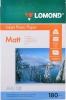Бумага для стр. принтеров (180г/м2, 50л, А4 матовая,1-ст,фото) 0102014 Lomond