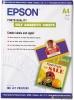Бумага для стр. принтеров (167 г/м2, 10л, А4, фото, матовая самокл.) C13S041106 Epson