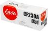 Тонер-картридж CF230A/Canon 051 (HP LJ Pro M203/M227)  (1700стр)  (Sakura)