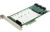 Контроллер PCI-E, Espada SATA3 RAID 3 int port /1 mSATA/2NGFF,  FG-EST19A-1, oem