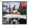 Экран настенно-потолочный 1:1, 156x156 (150x150) см, Matte White (Sakura) [SCPSW-150x150]