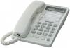 Телефон Panasonic KX-TS2365RUW (белый) {ЖКД,Спикерфон,ускорен. набор,Разъем гарнитуры,Автодозвон}