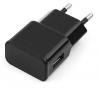Зарядное устройство USB Gembird MP3A-PC-10 100/220V - 5V USB 1 порт, 1A, черный