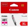 Картридж CLI-481XL M (Canon Pixma TS6140/TS8140TS/TS9140/TR7540/TR8540) красный, (о) 2045C001