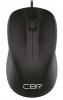 Мышь оптич. (USB) CBR CM131 black (1000dpi)