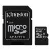 Карта памяти Micro SecureDigital 64Gb Kingston Class10 (SDCS2/64GB) + адаптер