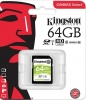 Карта памяти Secure Digital 64Gb Kingston SDS2/64GB {SDXC Class 10, UHS-I}