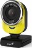 Веб-камера Genius QCam 6000 Yellow {1080p FullHD, 360°, универсальное крепление, микрофон, USB