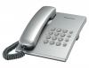 Телефон Panasonic KX-TS2350RUS (серебристый) {повторн. набор, тон/импульс, регулировка громкости}