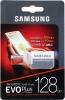 Карта памяти Micro SecureDigital 128Gb Samsung EVO PLUS Class 10 (MB-MC128HA/RU) SDадаптер